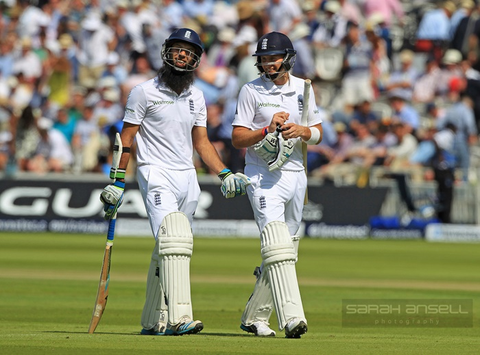Moeen Ali and Joe Root
