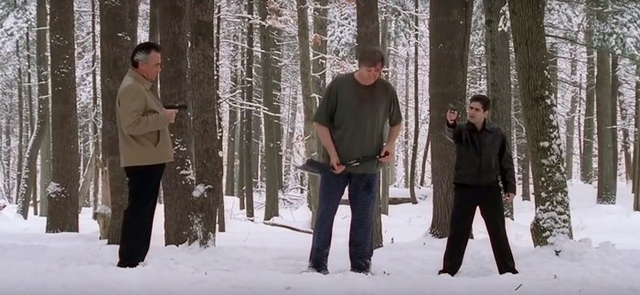 The Sopranos Pine Barrens episode (via YouTube)
