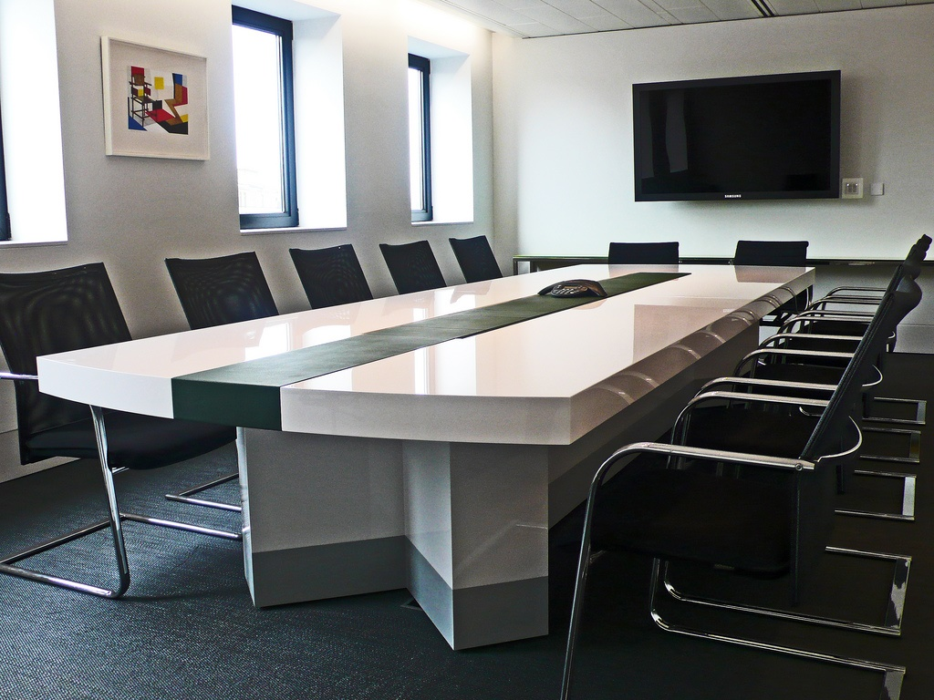 Boardroom table (CC licensed by Jonathan Baring via Flickr)