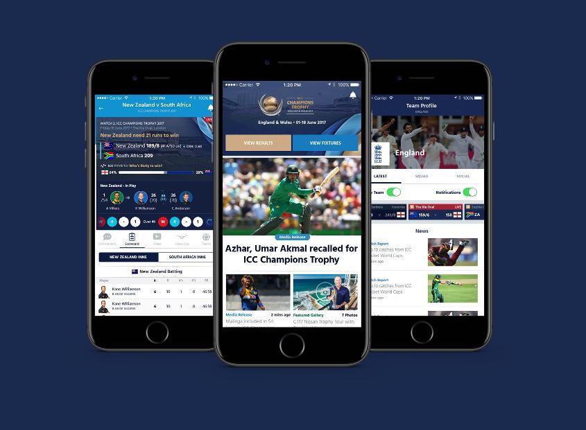 ICC mobile app