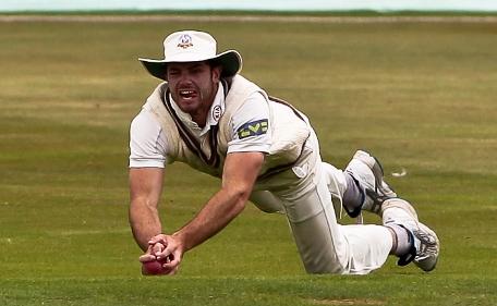 Tom Maynard playing cricket