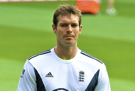 Chris Tremlett still LOOKS imposing...