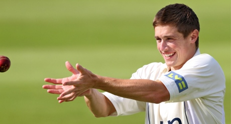 Woakes has adapted Spider-man's web shooters so that they fire cricket balls