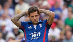 Jade Dernbach, doing arm and non-doing arm