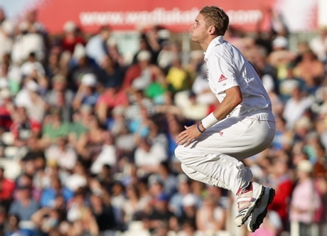 The usual Stuart Broad picture - can't be bothered finding a new one today