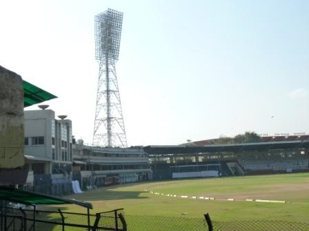 It's Lal Bahadur Stadium, Hyderabad
