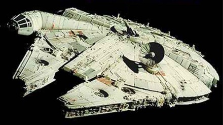A rare picture of something from Star Wars appears on the internet