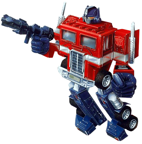 Optimus Prime - day one