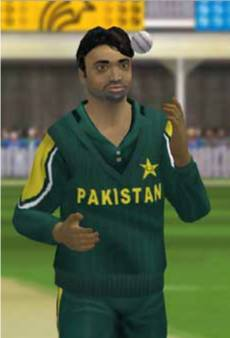 Shoaib Akhtar in Brian Lara Cricket