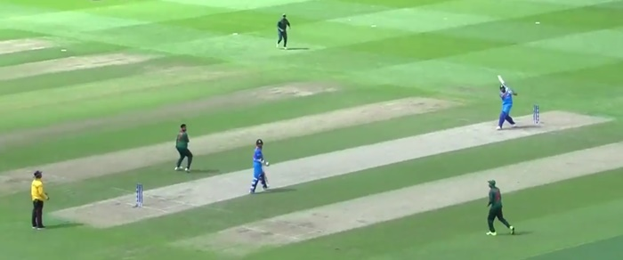 Rohit Sharma tonks one (via ICC)