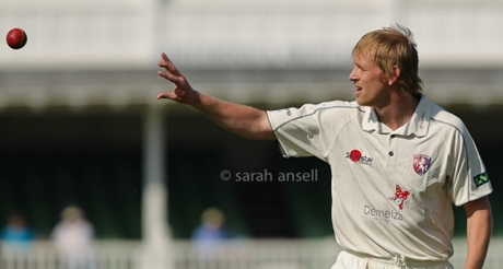 Mark Davies plays for Kent now but still looks like a Viking