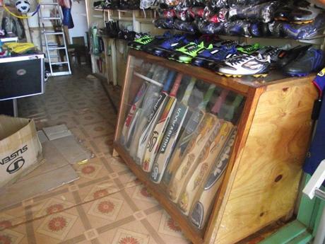 Cricket bats in Jinja