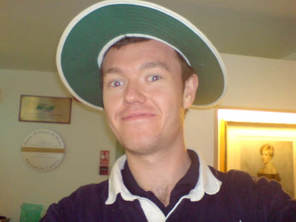 Clearly - CLEARLY - Shane Warne's hat
