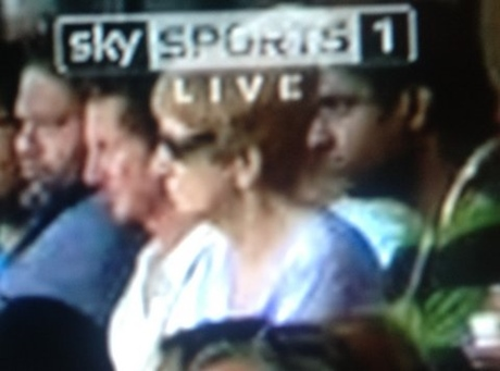 Nobody draw attention to the size of the Sky Sports logo
