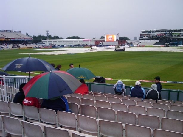 Old Trafford Cricket Ground at its most mediocre