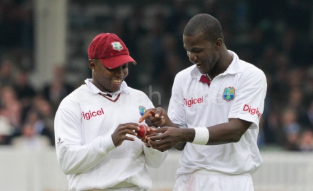 Darren Sammy finds everything amusing - even cricket balls